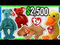 5 BEANIE BABIES WORTH MONEY - BEANIE BABY VALUE AND PRICES!!