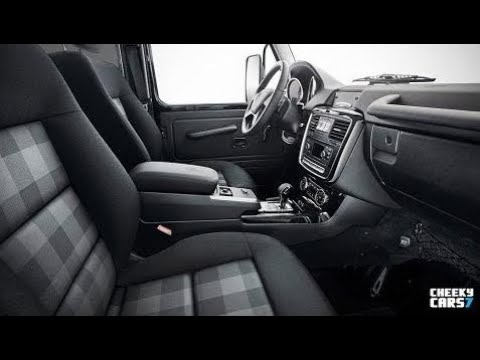 2018 Mercedes G Class 350 D Professional Interior Youtube