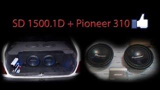 2x Pioneer 310 + SD 1500.1D, BAIXO CUSTO e SOM FORTE!