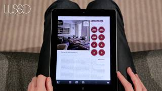 Lusso Magazine iPad Application