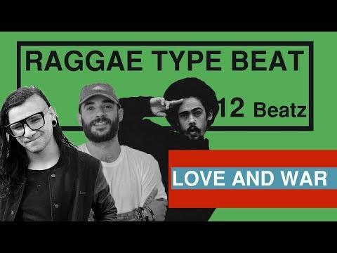 SKRILLEX x JON BELLION x DAMIAN MARLEY type beat | love and war Prod. 12 Beatz