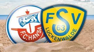 Interviews nach dem Testspiel gegen FSV 63 Luckenwalde