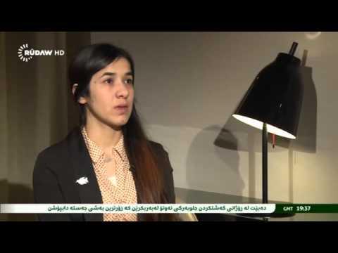 RUDAW TVنادية مراد على قناة روداو