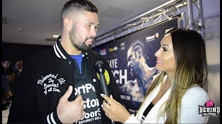 TONY BELLEW PLEADS FOR DAVID HAYE TO RETIRE/ SAYS HE WANTS ANDRE WARD, TYSON FURY OR WINNER OF WBSS