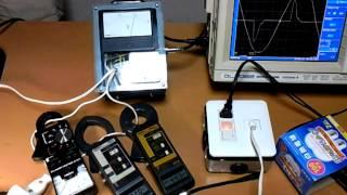 実効値の確認 測定実験 電流編