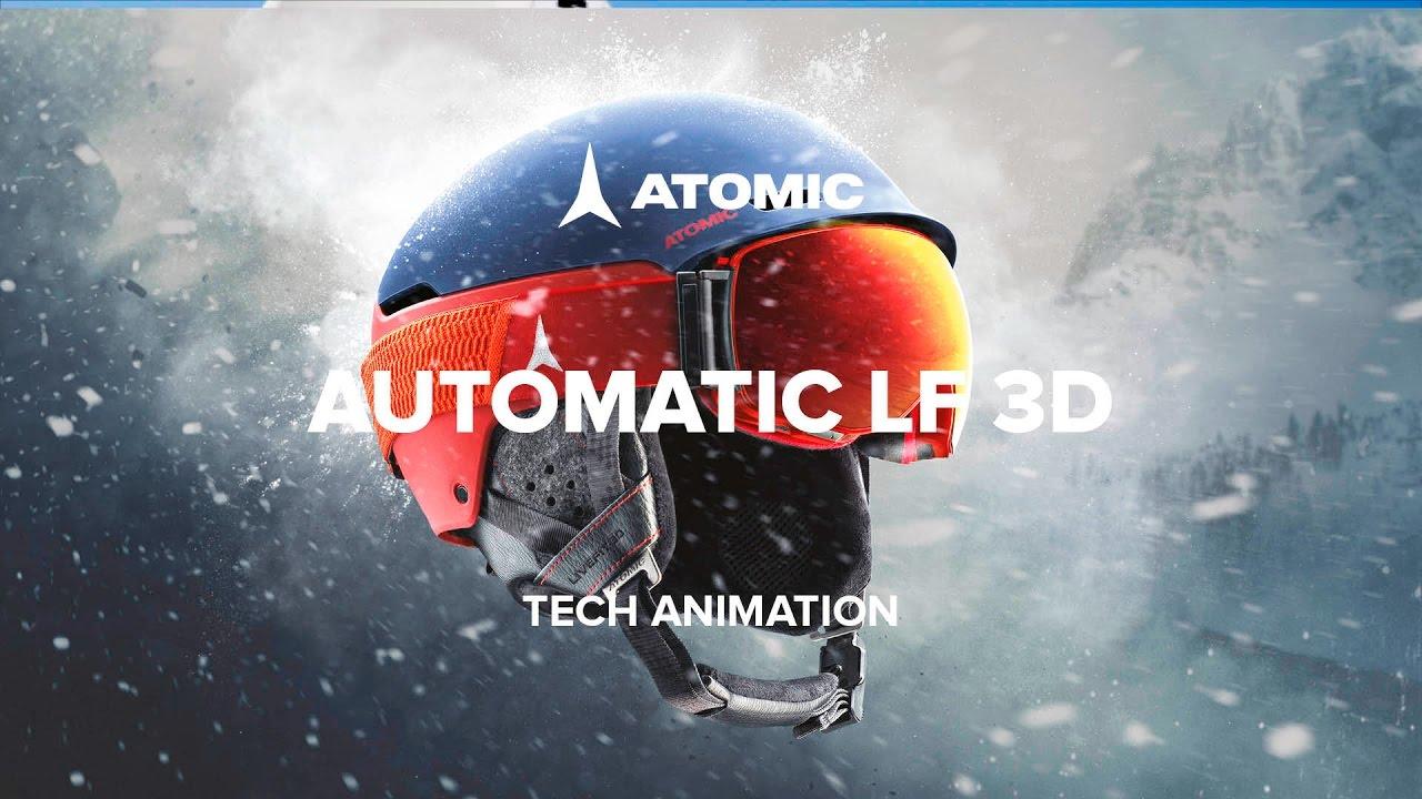 2e6f2b4245d Atomic Automatic LF 3D helmet 2016 17 Tech Animation - YouTube