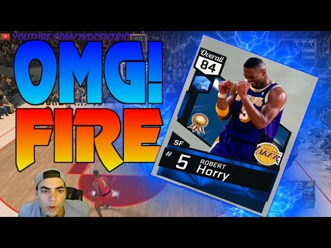 King of Myteam! Nba 2k17 Gameplay Making People Quit! Sapphire Robert Horry is ILL