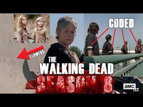 the walking dead season 8 trailer armbands and carol looking at the flowers youtube. Black Bedroom Furniture Sets. Home Design Ideas
