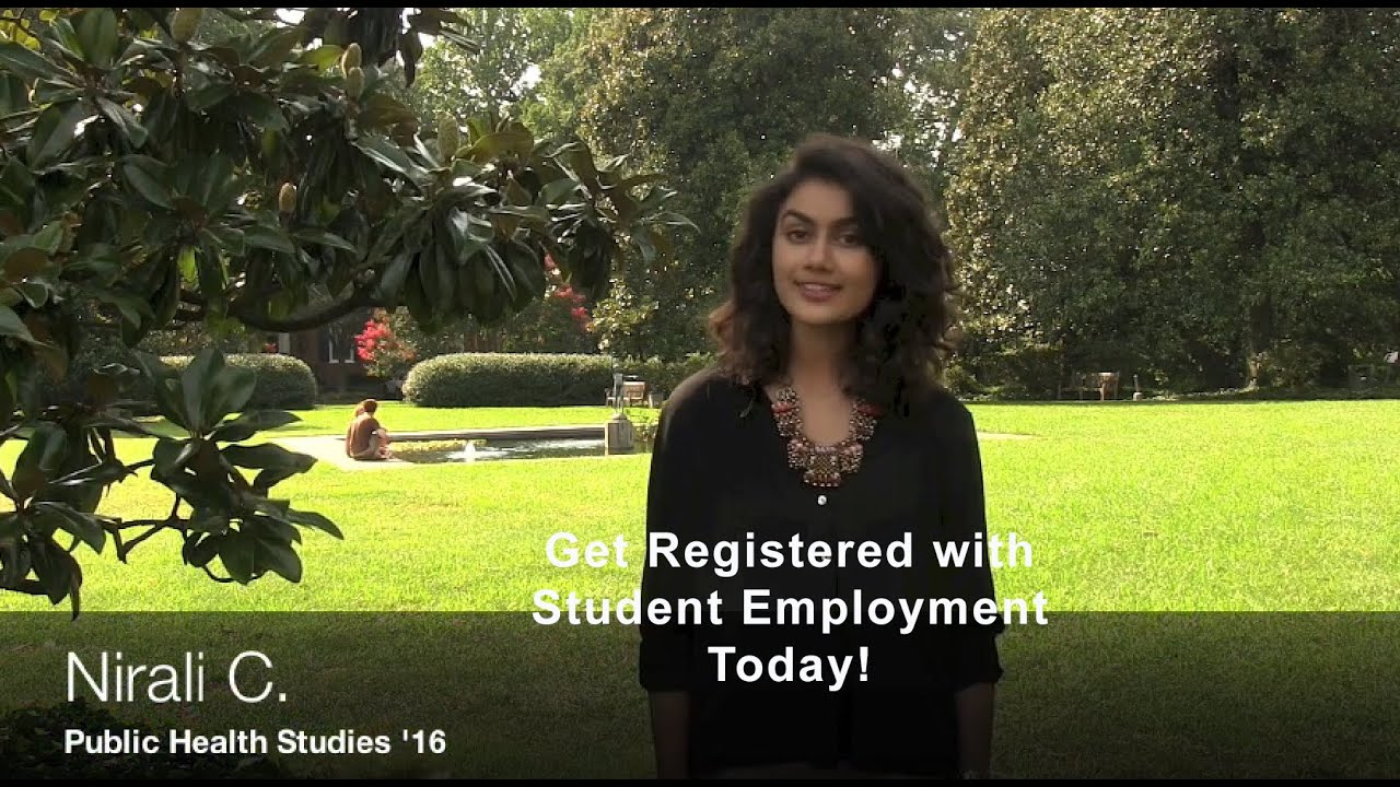Student Employment Services | Homewood Student Affairs