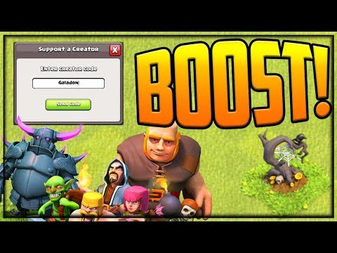 How To BOOST Your Favorite Clash Of Clans Creator #NameTheTree