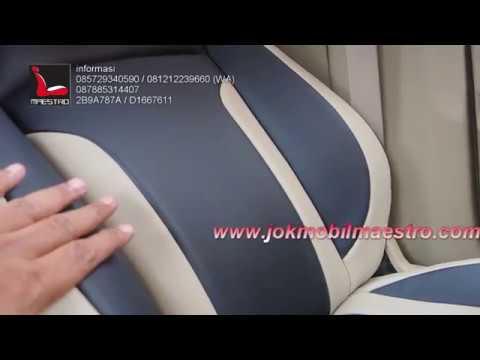 review hasil pemasangan sarung jok paten honda mobilio