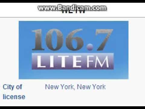"25 Days of Christmas Radio - Day 1: WLTW: ""106.7 Lite FM"" New York City TOTH ID 6pm ET--12/01/15"