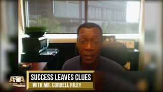 WS19 Success Leaves Clues w/ Mr. Cordell Riley | ATA Martial Arts
