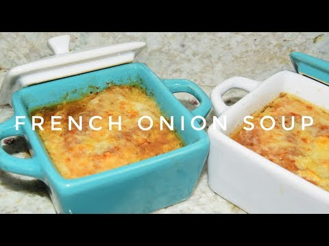 French Onion Soup Recipe - How To Make Onion Soup - Slow Cooker Recipe