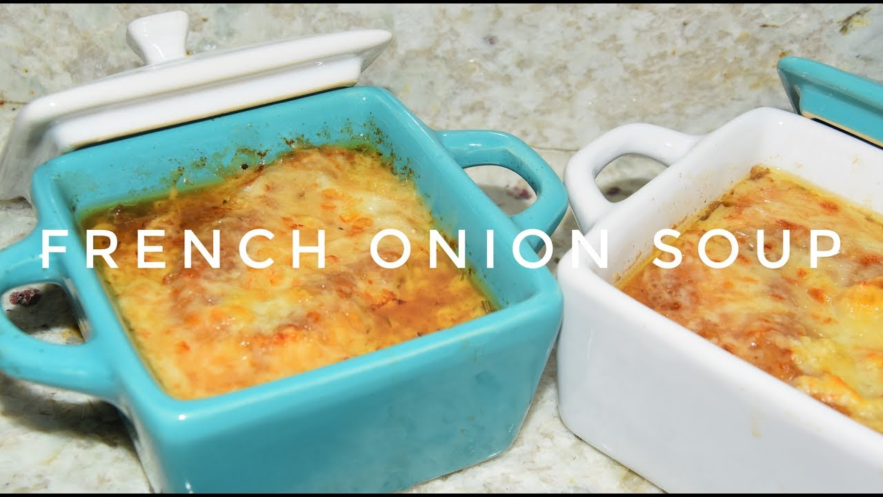 French Onion Soup Recipe - How To Make Onion Soup - Slow Cooker ...