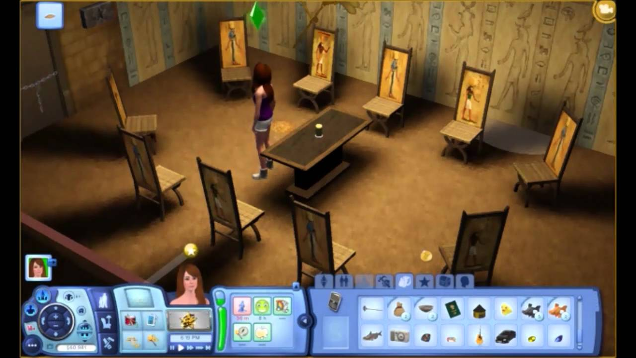 the sims 3 world adventures the sphinx youtube. Black Bedroom Furniture Sets. Home Design Ideas