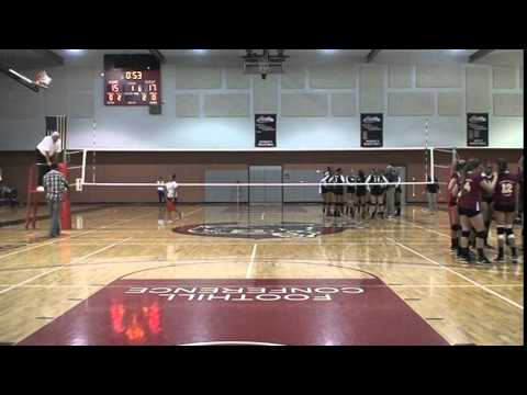 Cristionna Pitts #11 Victor Valley College Volleyball vs Chaffey College