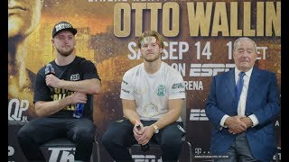 Tyson Fury vs Otto Wallin Full Post Fight Press Conference