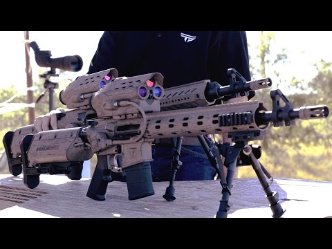 TrackingPoint - M600 SR Squad-Level Precision Guided Assault Rifle Live Firing [1080p]