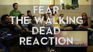 FEAR The Walking Dead - Comic-Con Trailer - Group Reaction