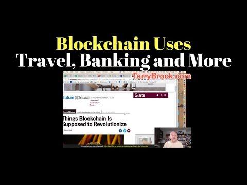 Blockchain in Travel, Banking, Big Data & Bitcoin Hardfork - Lots going on