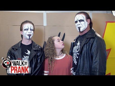 WWE Legend: Sting   Walk the Prank   Disney XD