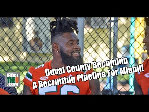 VIDEO: Jacksonville area well-represented on Miami Hurricanes