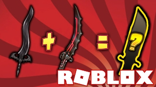 CRAFTING MY FIRST EVER KNIFE!! (Roblox Assassin)
