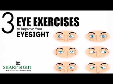 3 Easy Eye Exercises to Improve Vision Naturally