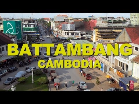 Battambang, a Good example of the French Colonial Architecture in Cambodia