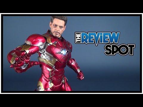 Collectible Spot | Hot Toys Captain America: Civil War Iron Man Mark XLVI Sixth Scale Figure