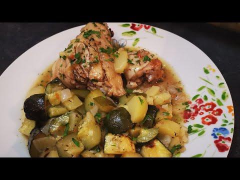 poulet-au-lÉgumes-🍗-cuit-au-four-simple-et-trÈs-savoureux