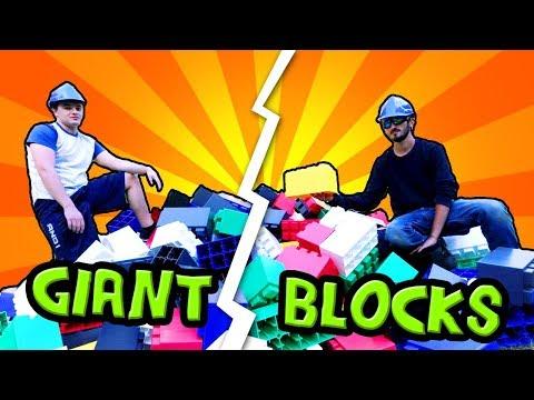 EPIC BLOCK BASE CHALLENGE! (Real Life Base vs Base)