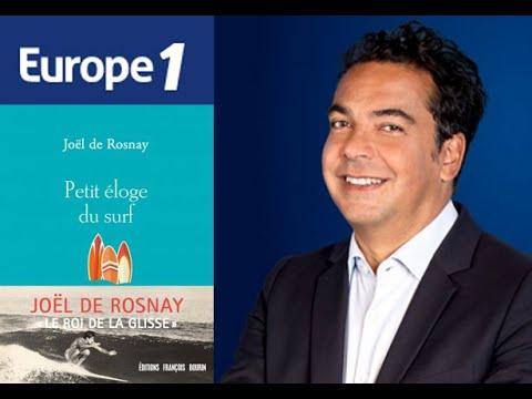 Interview de Joël de Rosnay par Patrick Cohen sur Europe 1 le 14/06/2020
