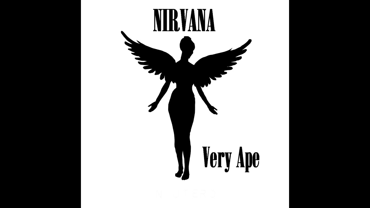 Nirvana - Very Ape (First Guitar Track) - YouTube