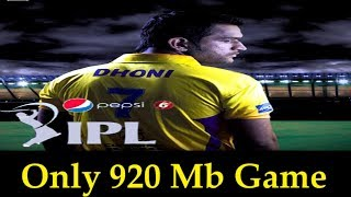 How to Download and Install IPL 6 { SPORTS GAME } FOR PC