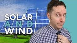 Renewable Energy Series: Solar Vs Wind | Answers With Joe
