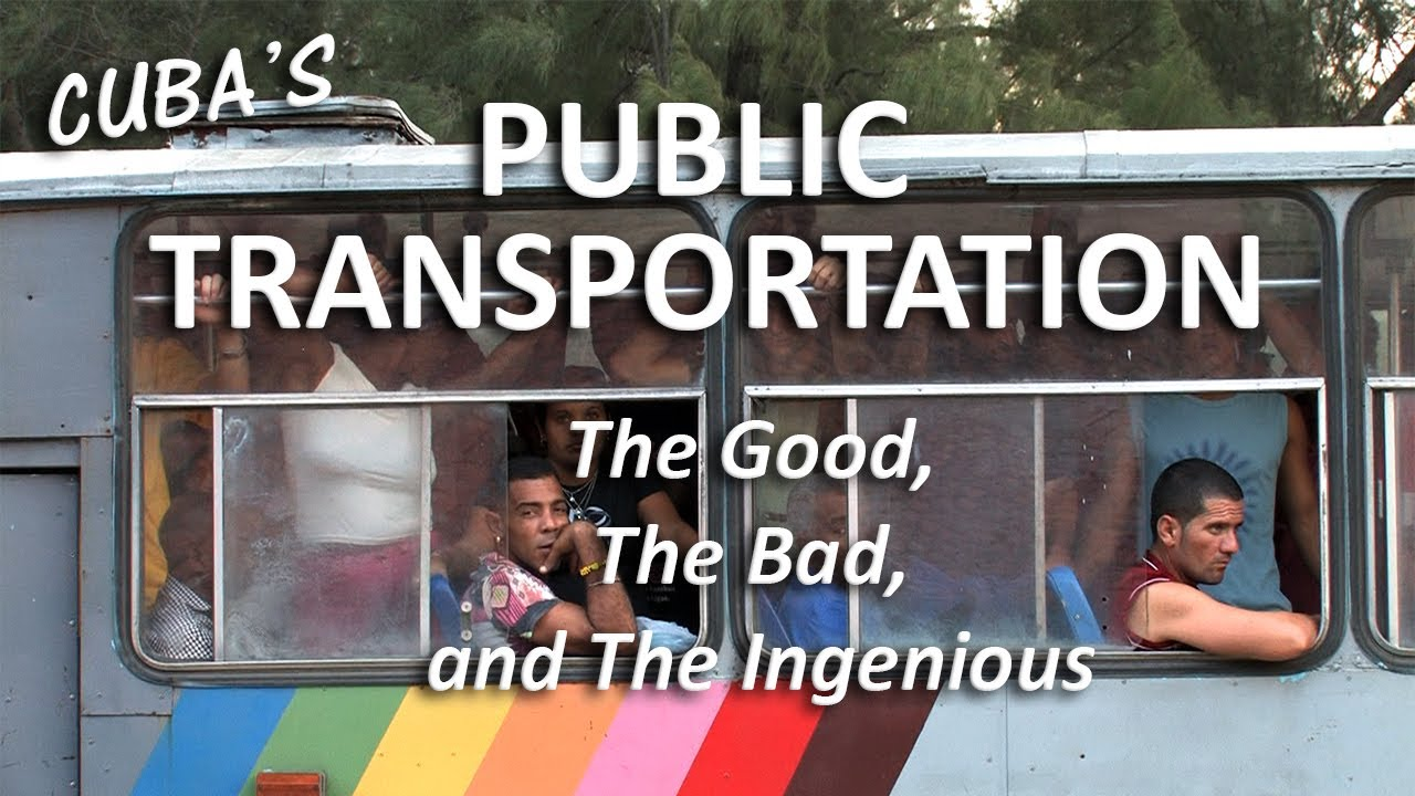 Cuba's Crazy (and Creative) Public Transportation System