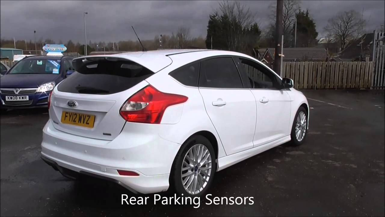 ford focus 1.6 182 ecoboost zetec s 5dr u45783 - youtube