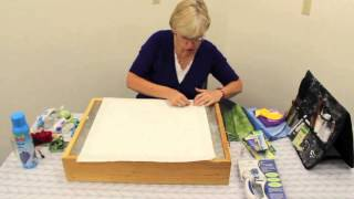 "Picking Your Fabric, And Prepping Your Block - Video 2 Of 7- ""peggy's Puzzle"" Block 1"