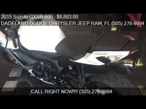 2015 Suzuki GXSR 600 For Sale In Miami, FL 33157 At The DADE. Dadeland  Dodge Chrysler Jeep Ram