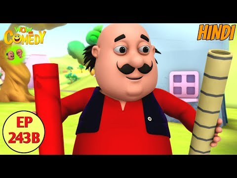 Motu Patlu in Hindi | 3D Animated Cartoon Series for Kids | John The Robot thumbnail