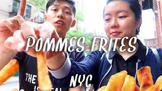 Pommes Frites: Belgian-style FRIES at Greenwich Village, New York City