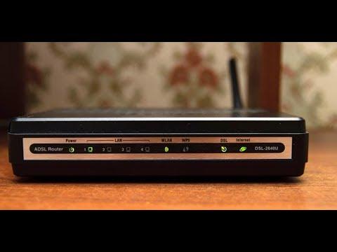 D Link 2640 U Краткая настройка роутера