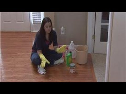Housekeeping Tips : How To Get Paint Off Of Hardwood Floors   YouTube