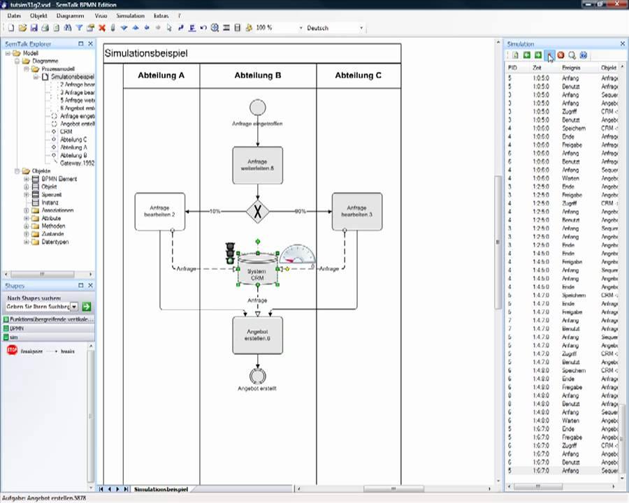 semtalk visio simulation bpmn - Bpmn Simulation