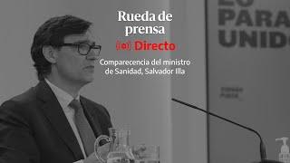 🔴 DIRECTO | Salvador Illa anuncia los detalles del plan de vacunación contra el coronavirus