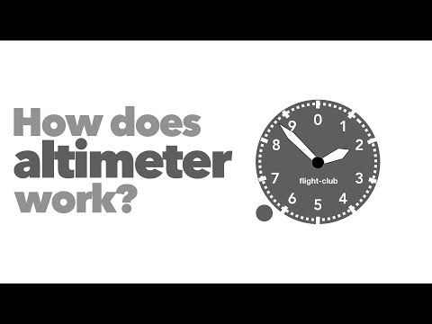 How Does Altimeter Work?