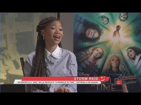 """EP 214 Entrevista con Storm Reid de la nueva película """"A Wrinkle in Time"""". Y hay mucho más!!"""