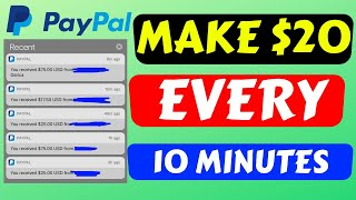 Make $20 Every 10 Minutes (MAKE MONEY ONLINE NOW 2020)